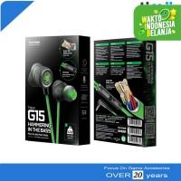 Plextone G15 Stereo Earphone Headset Microphone Gaming PUBG ML FF