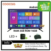 COOCAA LED TV 40inch Full HD Smart Android Box Ram 2GB 40D5A