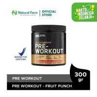 Optimum Nutrition Pre Workout Fruit Punch (300gr)