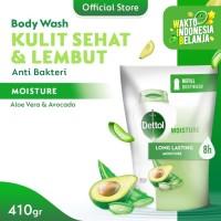 Dettol Sabun Mandi Cair Aloe Vera & Avocado 410 gr Refill