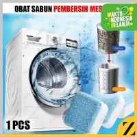 Tablet Sabun Pembersih Mesin Cuci Tabung Dalam Set Alat Penghilang Bau