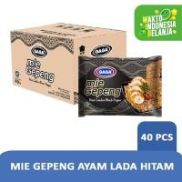 Mie Gepeng Goreng Ayam Lada Hitam 75g-1 Karton (isi 40 pcs) Hrg Grosir