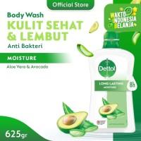 Dettol Sabun Mandi Cair Aloe Vera & Avocado 625 gr Pump