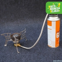 Adaptor Selang Kompor Gas Connector Burner Head Gas Butane To Propane