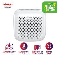Speaker Bluetooth 5.0 VIVAN Outdoor Waterproof Support SD Card VS
