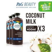 Herbal Essences Bio Hydrate Coconut Milk Shampoo 400 ml x3