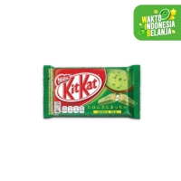 KIT KAT Green Tea 4 Fingers 35g ( 1Box isi 24 Pcs)