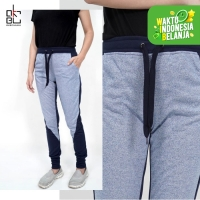 JANE Okechuku Celana Jogger Wanita Training Sweatpants Fashion Joger