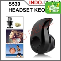 Neo Headset Bluetooth Mini S530 Micro Sport Stereo Handsfree Earpiece
