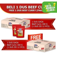 Beef Curry 160g Beli 1 dus FREE 1 dus (GG53)