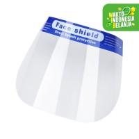 Face Shield Pelindung Wajah Dari Droplets Clear Anti-Fog Lightweight