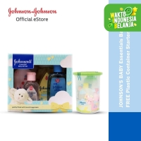 JOHNSONS BABY Essential Gift Set Free Container
