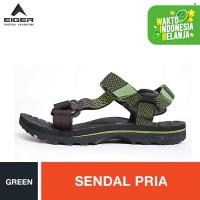 Eiger Kinkajou Palang Sandals - Green / Sendal Pria - Hijau, 37