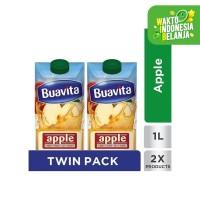 Buavita Juice Apel 1000ML Twinpack