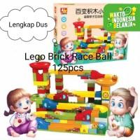 Mainan Anak DIY LEGO DUPLO RACE BALL RAIL~Lego Seluncur Bola 125 pcs - Brick 125pcs