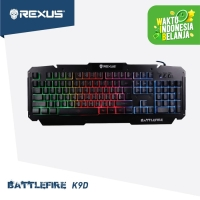 Rexus Keyboard Gaming Battlefire K9D