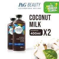 Herbal Essences Bio Hydrate Coconut Milk Shampoo 400 ml x2