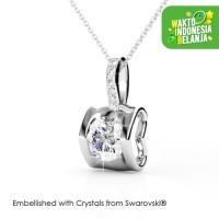 Eternal Love Pendant Kalung Kristal - Her jewellery Crystal Swarovski