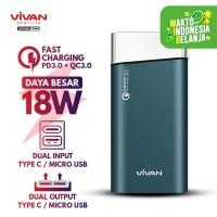 VIVAN Powerbank 10000mAh PD+QC.30 Fast Charging - Power bank VPB-G10