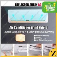 Talang Reflector AC Reflektor Penahan Hembusan Pembelok Angin 1 2 PK