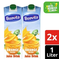 Buavita Juice Kemasan Orange 1L Twin Pack