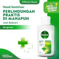 Dettol Hand Sanitizer Original 100 ml - Flip top bottle