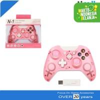 Stik Stick Controller Joystick Xbox ONE PC PS3 Laptop Pink WIRELESS