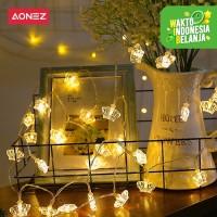 AONEZ lampu tumblr Light Mahkota Hias Dekorasi 1.5M