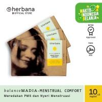 Herbana Balance Madia Menstrual Comfort - 10 Kaplet (Bundling 3 pc)