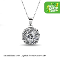 Elene Pendant Kalung Kristal - Crystals Swarovski® by Her Jewellery