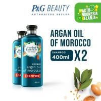 Herbal Essences Bio Repair Argan Oil Of Morocco Shampoo 400 ml x2