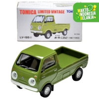 Tomica Limited Vintage LV-N185a Mazda Porter Cab Fixed Side Body Green