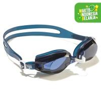 Nabaiji Kacamata Renang AMA 700 Blue White Decathlon - 2027371