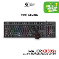 Fantech Keyboard Mouse Gaming Combo Bundle MAJOR KX302