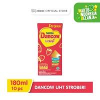 DANCOW Fortgiro Susu UHT Stroberi 180ml 10 pcs