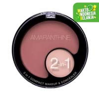 Amaranthine 2 in 1 Compact Make Up Concealer - Light Nude
