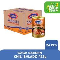 GAGA Sarden Chili Balado 425g - 1 Karton (isi 24 pcs) Harga Grosir