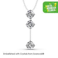 Dazzling Pendant Kalung Kristal - Her Jewellery Crystals Swarovski®