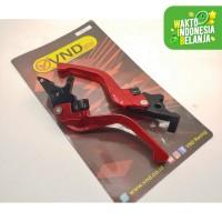 Handle Rem New Pcx New Lokal VND Racing Anti Karat Cnc Aluminium Red -