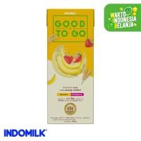 Indomilk UHT Good To Go Pisang Stroberi 250 ml X 4 Pcs