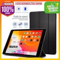 Case iPad 7 10.2 Inch Spigen Smart Fold Leather Magnetic Cover Casing
