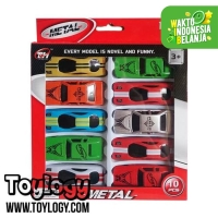 Mainan Mobilan ( Die Cast Metal TH 601 - 10 Sport Cars )