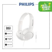 Philips BASS+ Headphone With Mic SHL 3075 - White