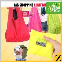 Tas Belanja baggu Serbaguna Foldable Shopping Bag Warna ECO bag Warna