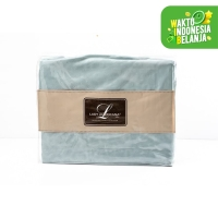 Bed Sheet Lady Americana Blue Light