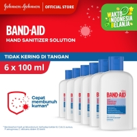 Band Aid Hand Sanitizer Solution [100 mL/ 6 pcs]