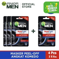 Garnier Acno Fight Peel Off Mask Bundle