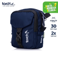 TORCH TAS SELEMPANG TRAVEL POUCH WAKO 2L NAVY X7