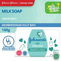 Johnson's Baby Milk Soap 100gr