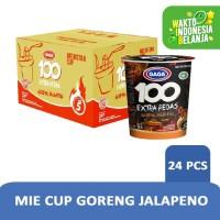 MIE CUP GORENG JALAPENO 75g - 1 Karton (isi 24 pcs) Harga Grosir